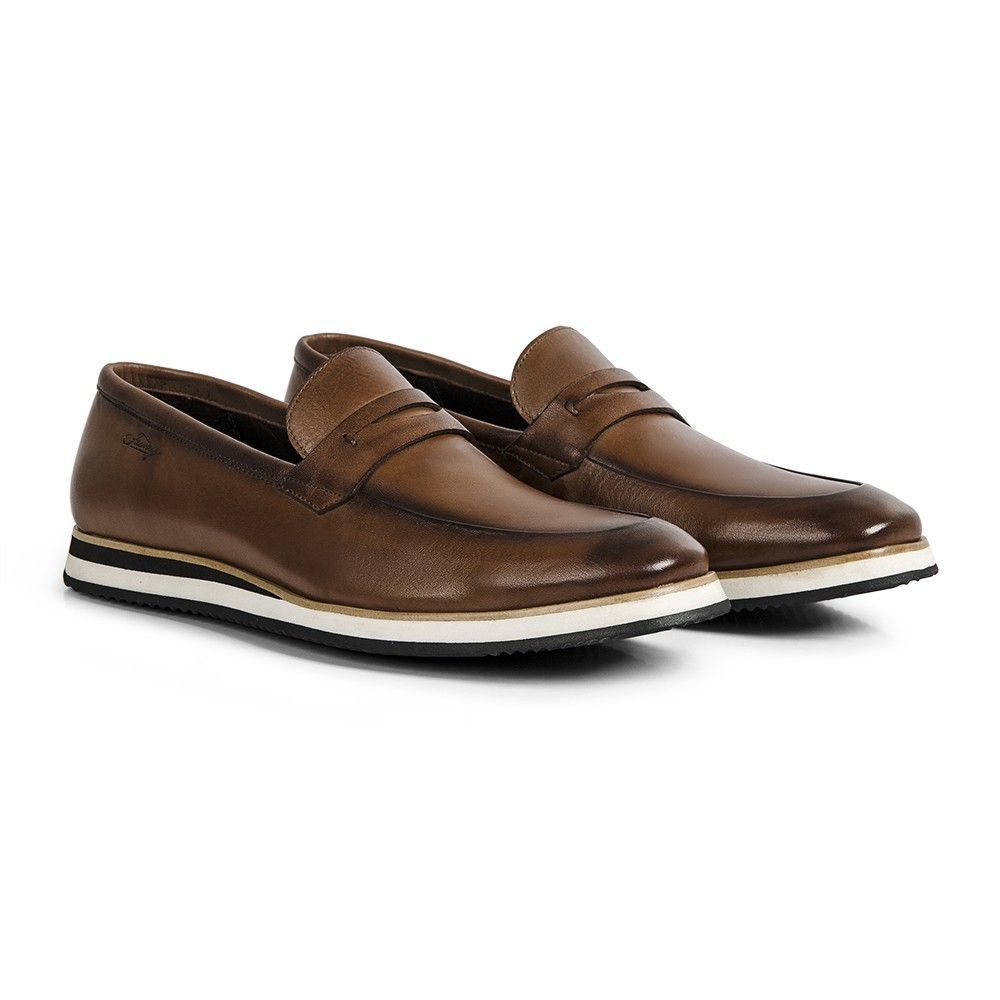 Sapato Loafer Durhan Gommix Whisky