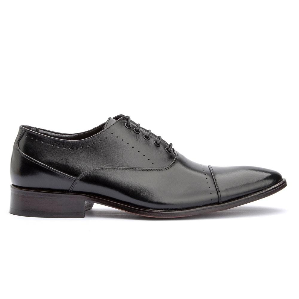 Sapato Oxford Social Clássico Premium Bigioni 2009 Preto