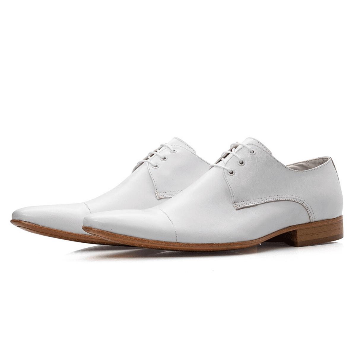 Sapato Social Bigioni 307 Couro Branco