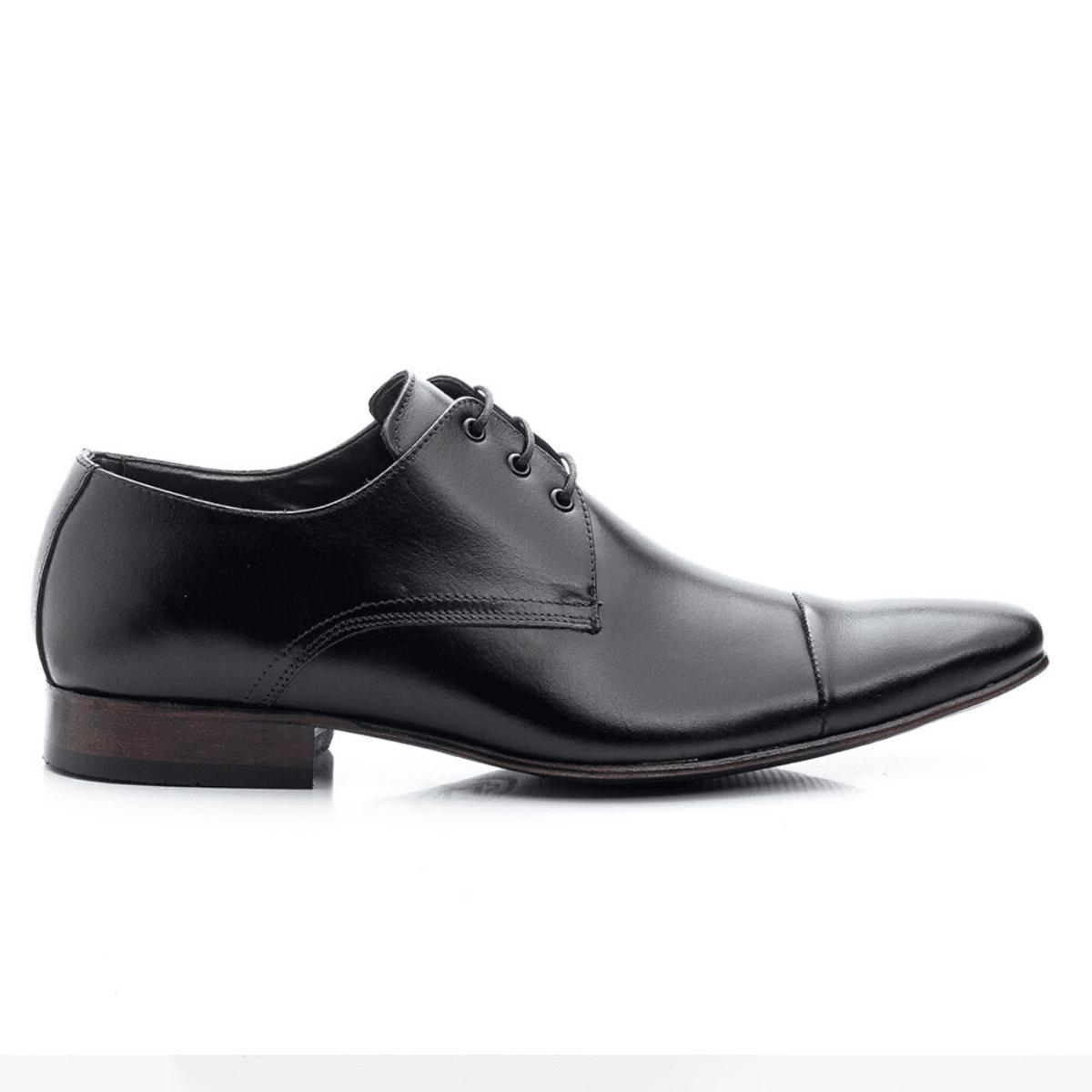 Sapato Social Bigioni 307 Couro Preto