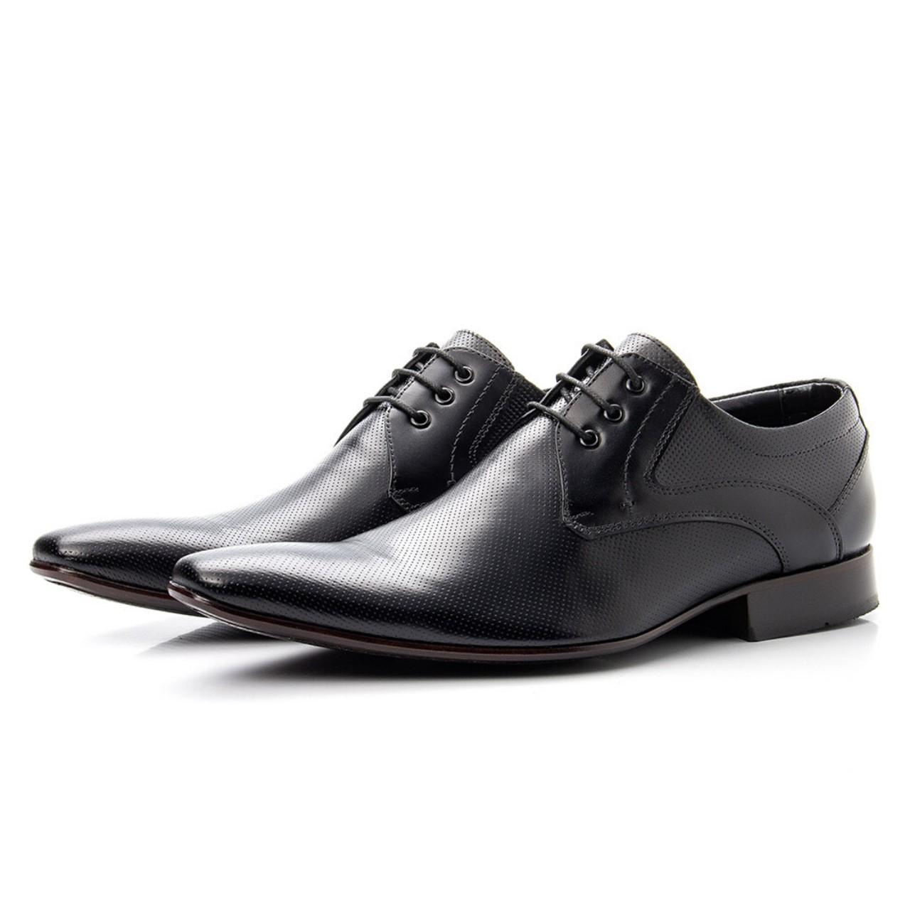 Sapato Social Bigioni 379 Clássico Couro Preto
