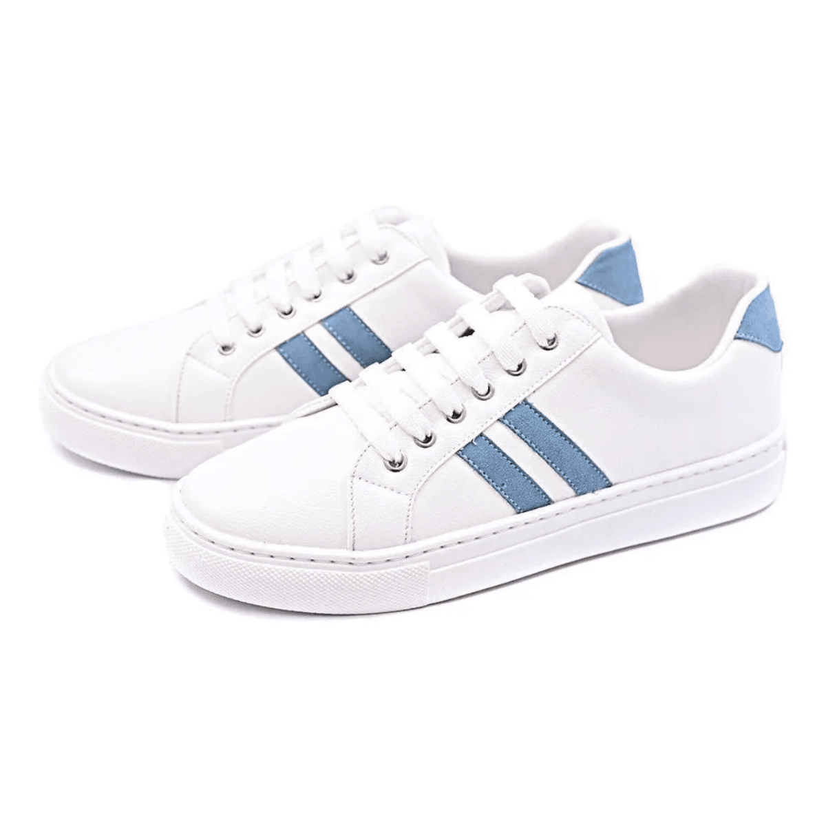 Tênis Casual Gommix Shoes 053 Listras Azul Ártico