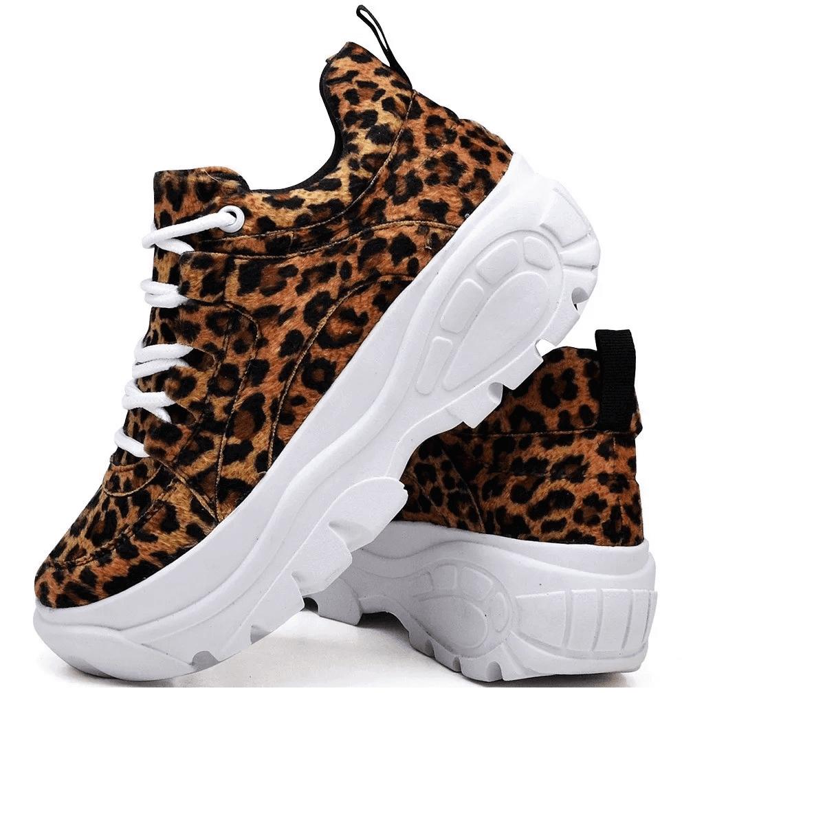 Tênis Sneaker Gommix Onça