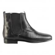 Bota Social Hb Agabe Boots - 400.001 - Pl Preto - Solado de Couro