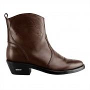 Bota Texana Hb Agabe Boots 102.000 - Lt Cafe - Solado de Borracha
