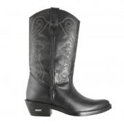 Bota Texana HB Agabe Boots 200.004 - Lt Preto - Solado de Borracha