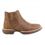 Bota Western Hb Agabe Boots 421.000 - Bt Tan - Solado de Borracha + Cunho PVC