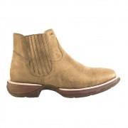 Bota Western Hb Agabe Boots 421.000 - Ch Areia - Solado de Borracha + Cunho PVC
