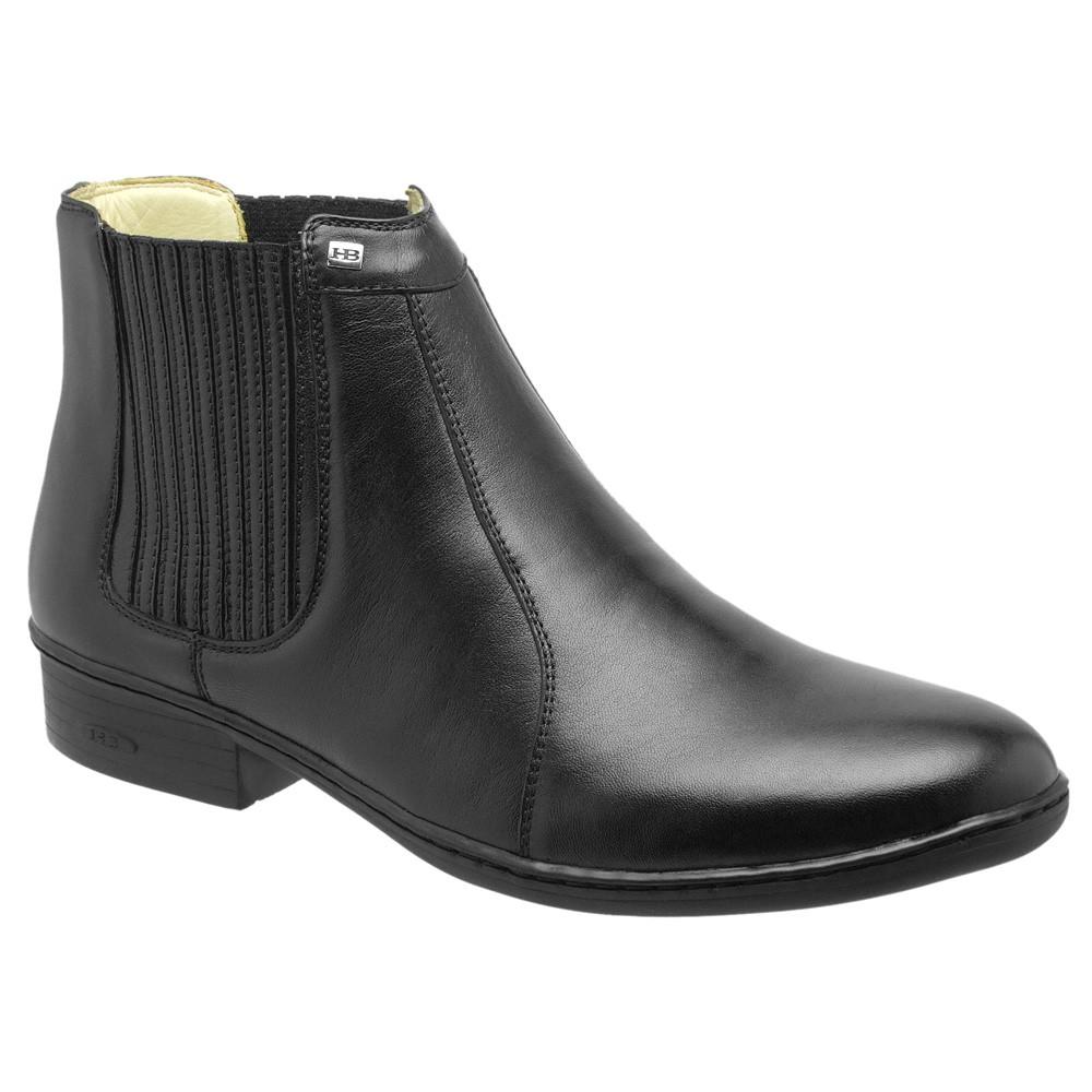 Bota Conforto Hb Agabe Boots - 401.000 - Pl Preto - Solado de Borracha - PVC