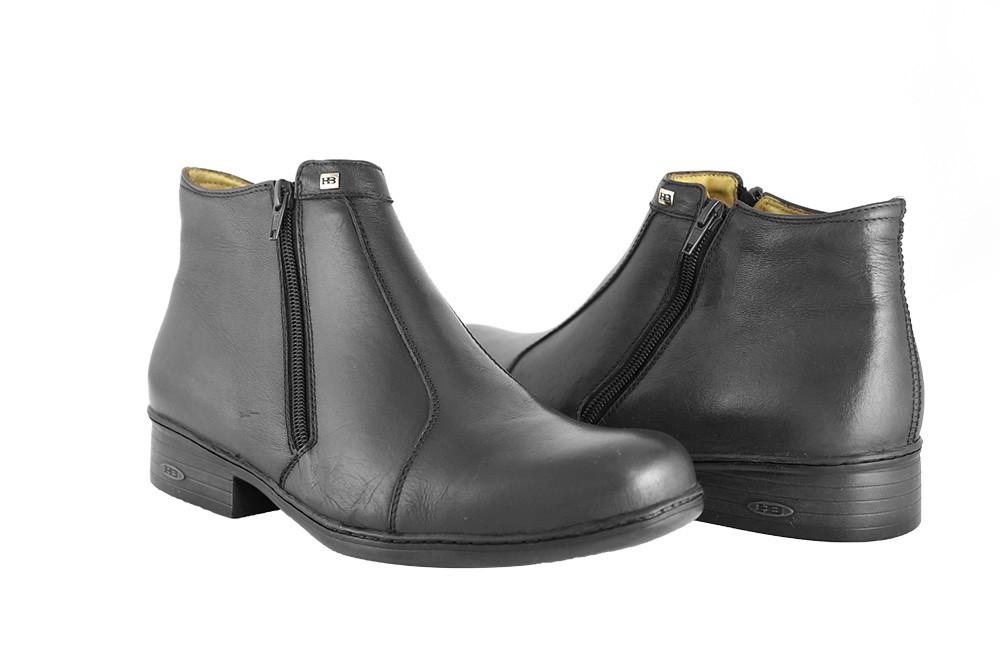 Bota Conforto Hb Agabe Boots - 401.001 - Pl Preto - Solado de Borracha PVC