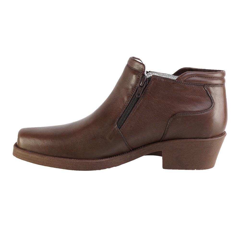 Bota Conforto Hb Agabe Boots - 403.004 - Pl Cafe - Solado de Borracha PVC