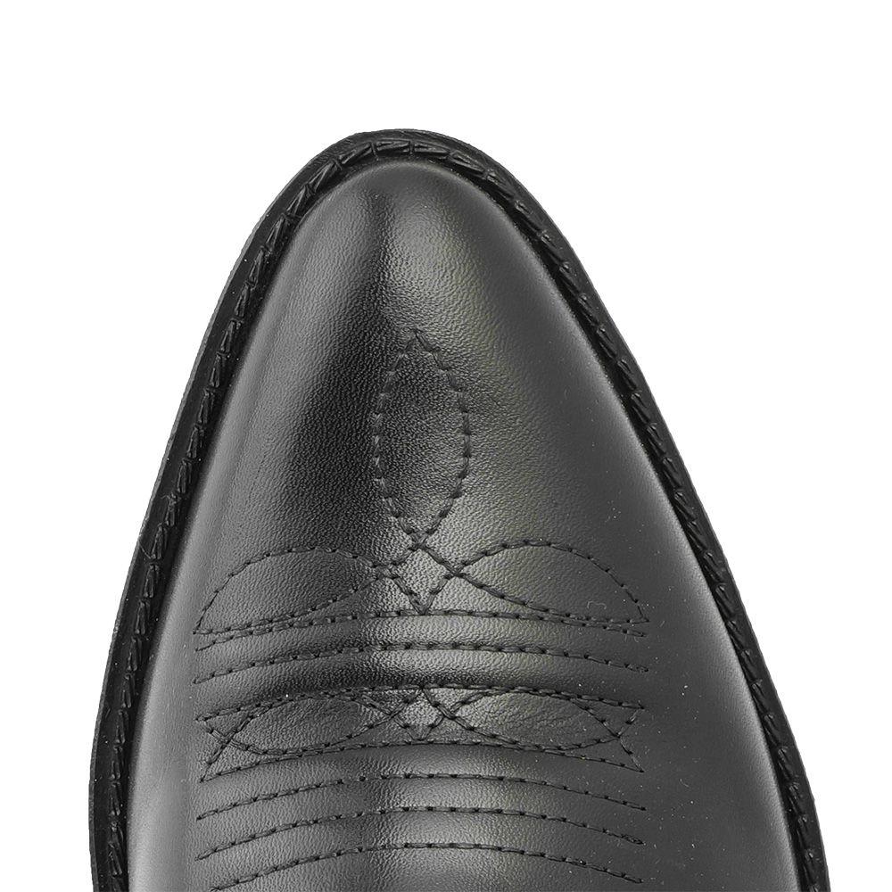 Bota Masculina Country Texana HB Agabe Boots 100.000 - Lt Preto - Sola de Borracha