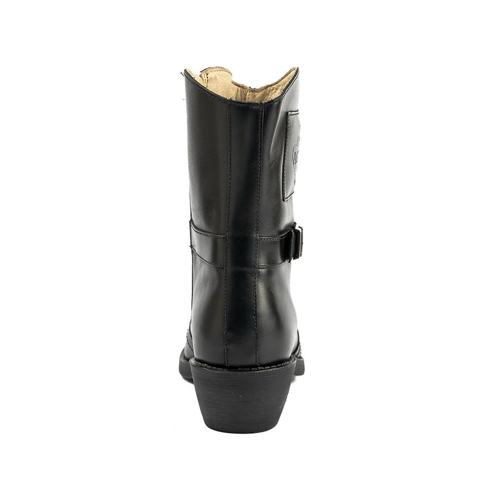 Bota Masculina Country Texana HB Agabe Boots 100.001 - Lt Preto - Sola de Borracha