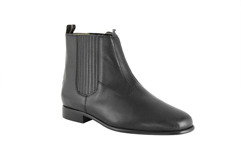 Bota Social Hb Agabe Boots - 400.000 - Pl Preto - Solado de Couro