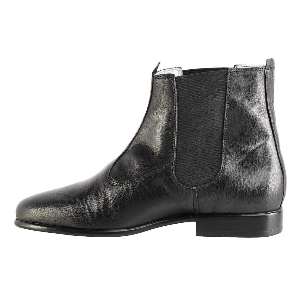 Bota Social Hb Agabe Boots - 400.001 - Pl Preto - Solado de Borracha