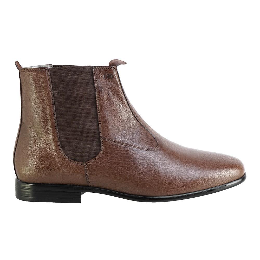 Bota Social Hb Agabe Boots - 400.001 - Pl Tabaco - Solado de Borracha