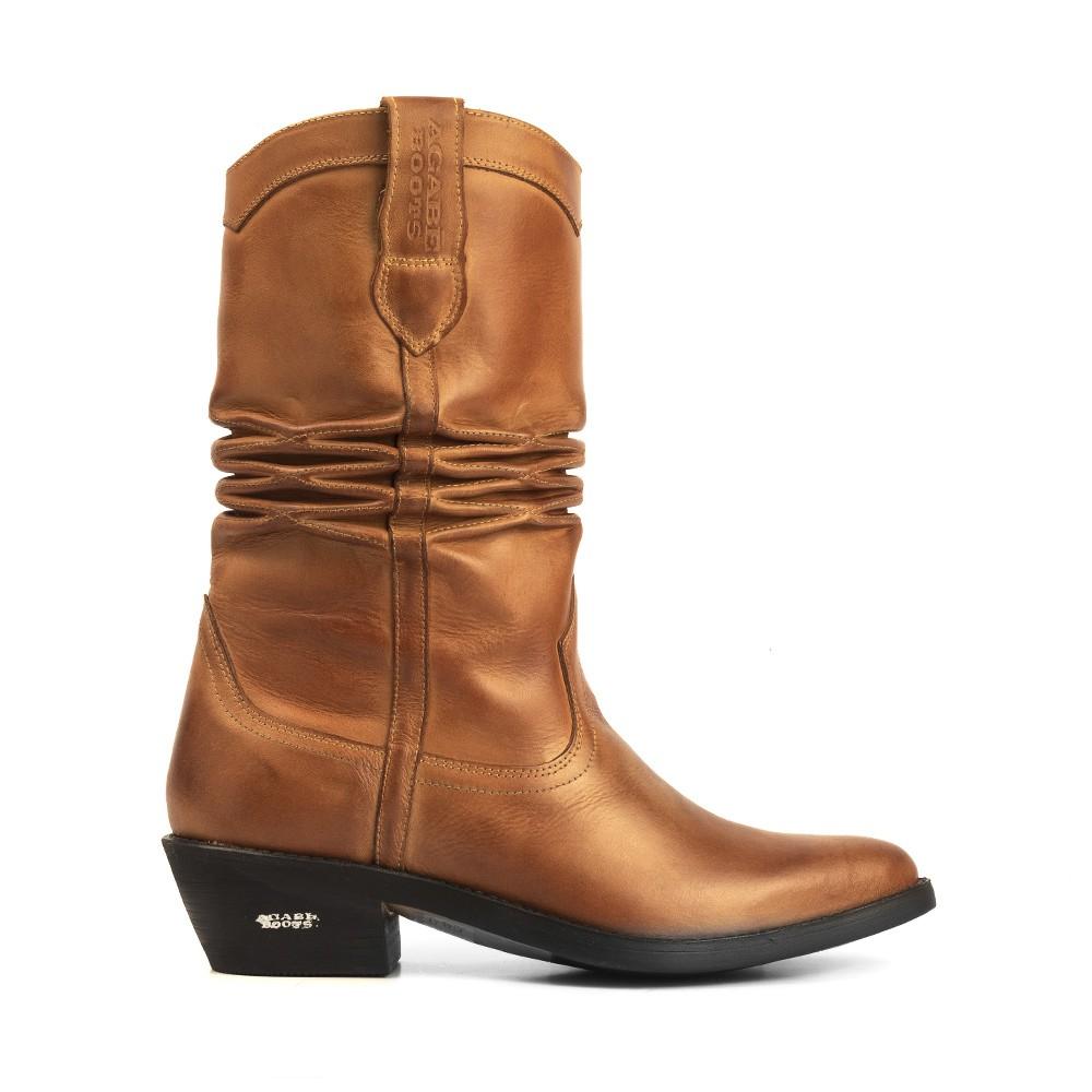 Bota Texana HB Agabe Boots 200.000 - Lt Havana - Solado de Borracha