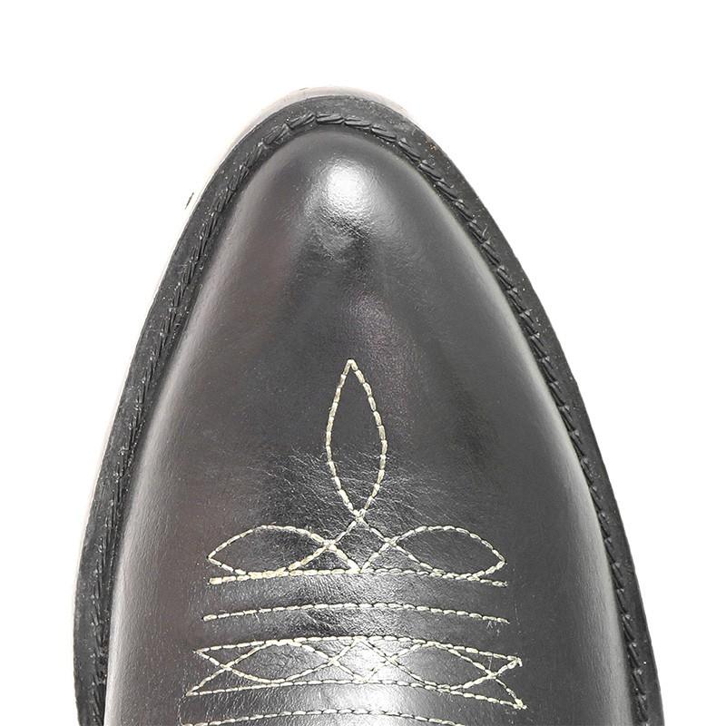 Bota Texana HB Agabe Boots 200.002 - Lt Preto - Solado de Borracha