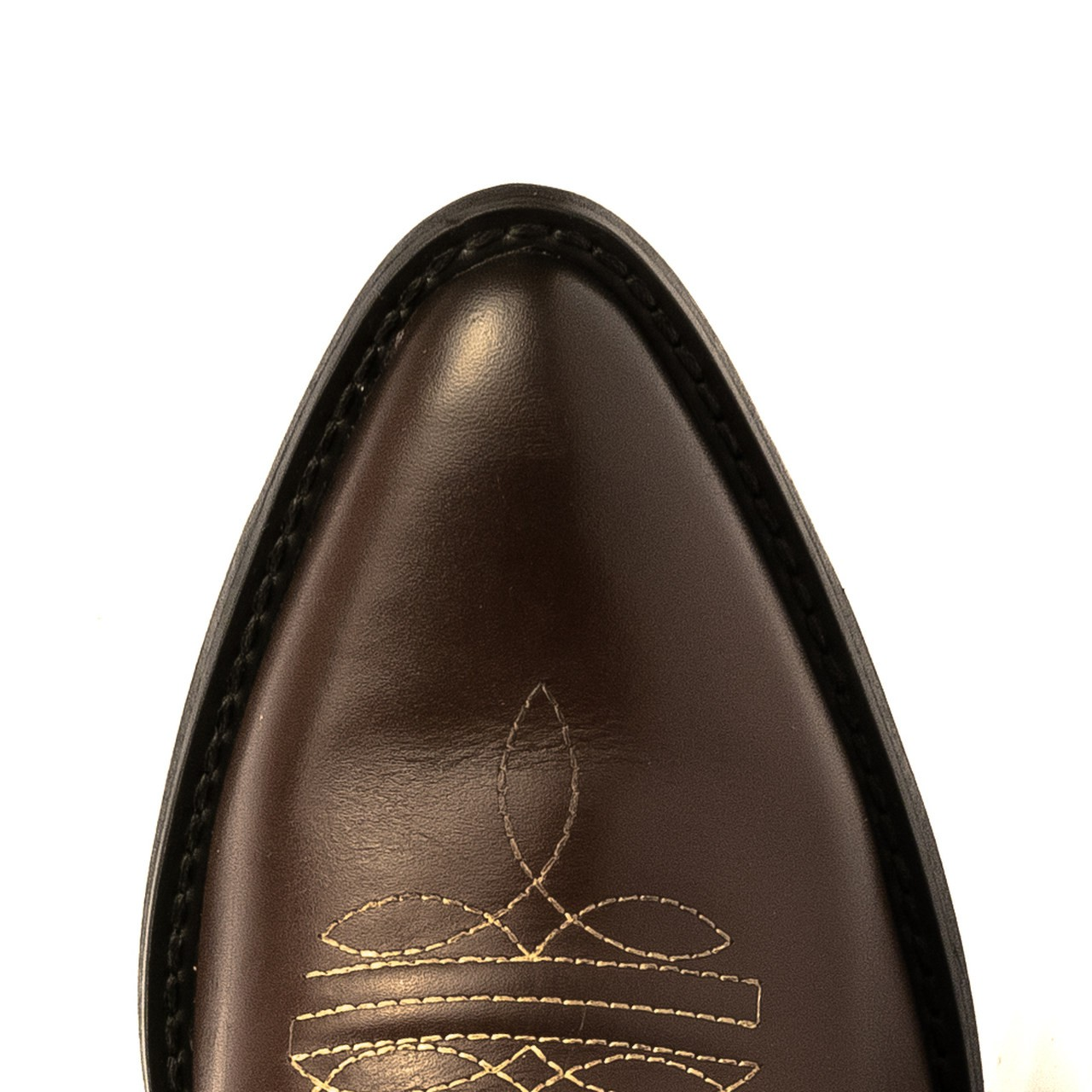 Bota Texana HB Agabe Boots 200.004 - Lt Café + Marrom - Solado de Couro Com Borracha