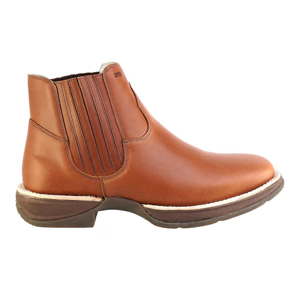 Bota Western Hb Agabe Boots 421.000 - Pu Whisky - Solado de Borracha + Cunho PVC