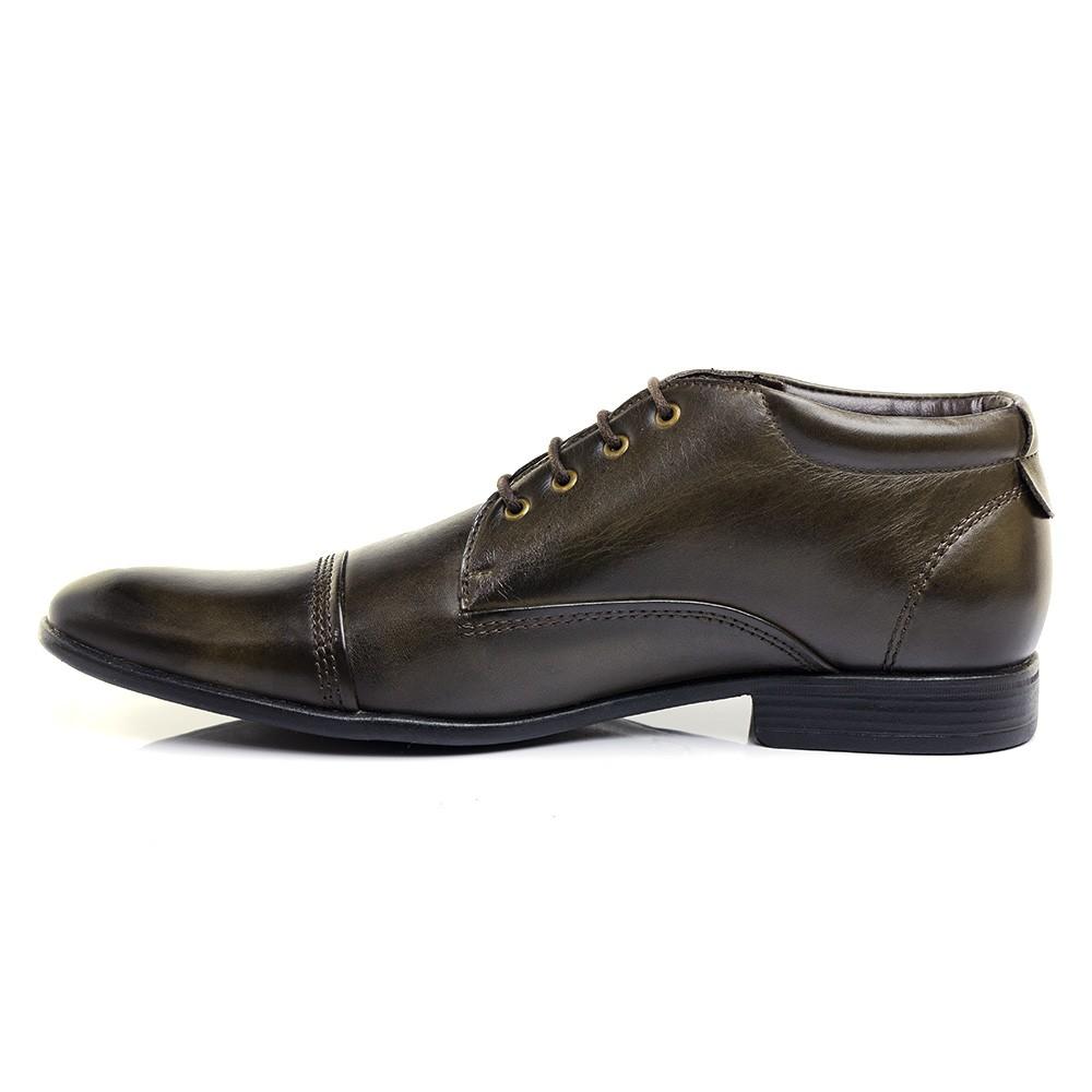 Sapato Social HB Agabê 905.003 Especial para compra 42 cor Café