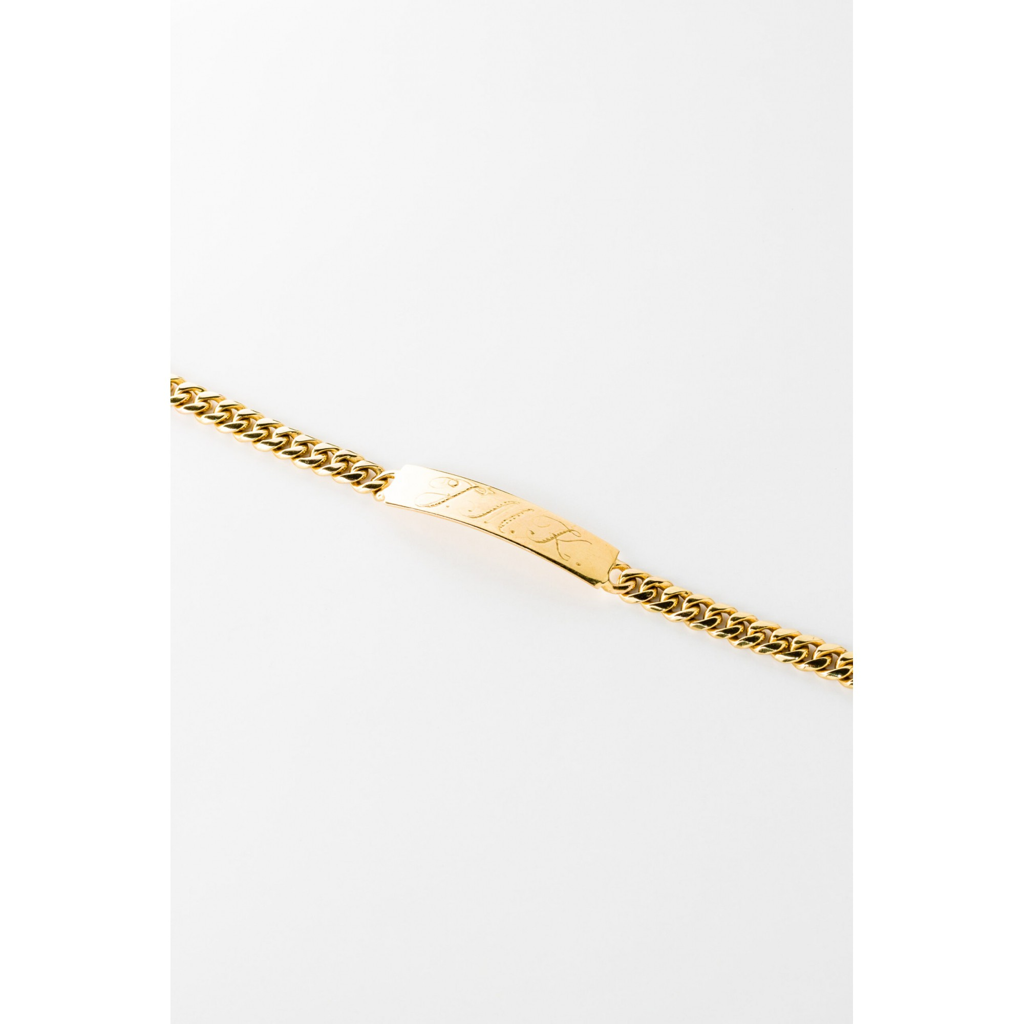 Pulseira de Ouro 18K Personalizável - Coleção Valentines