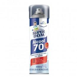 Álcool 70 Aerossol Super Dom 300ml