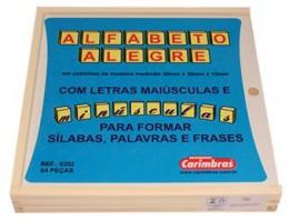 Alfabeto Alegre Carimbras Ref.0202