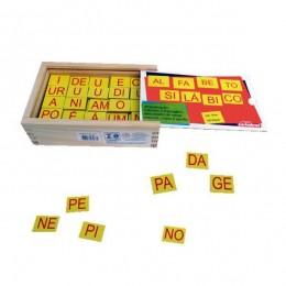 Alfabeto Silábico Carimbras Ref.0046