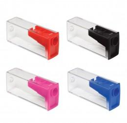 Apontador Plástico Faber-Castell Com Depósito 125LVZF