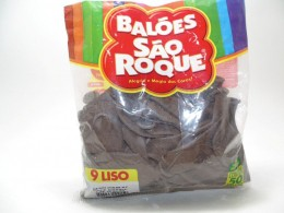 Balão São Roque Nº9 C/ 50  - Café Brasil