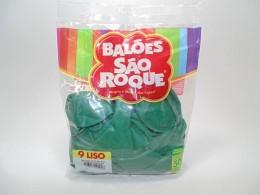 Balão São Roque Nº9 C/ 50  - Verde Folha