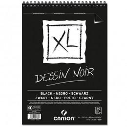Bloco (caderno) Canson 150 gms. Dessin Noir XL A3 40 Folhas