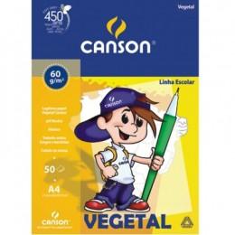 Bloco Canson A4 50 Folhas Papel Vegetal
