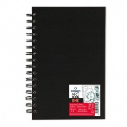 Caderno Canson A4 Artbook One 80 Folhas Espiral
