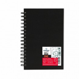 Caderno Canson A5 Artbook One 80 Folhas Espiral