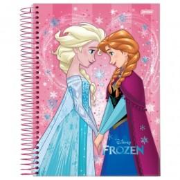 Caderno Univ Frozen 200 folhas10 Matérias Jandaia