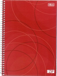 Caderno Univ Zip 100 folhas 1 Matéria Tilibra