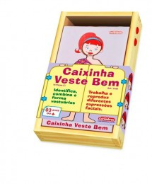 Caixinha Veste Bem Carimbras Ref. 2160