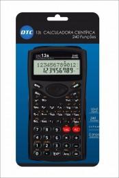Calculadora Científica DTC 13s com 240 funções