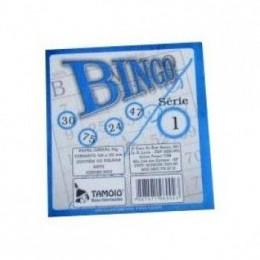 Cartela De Bingo Tamoio Azul PACK COM 15 UNIDADES