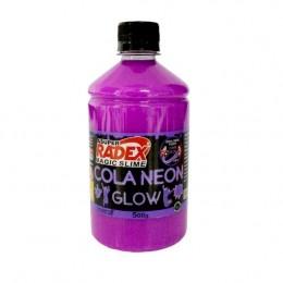 Cola Neon Radex Magic Slime 500g - Roxo