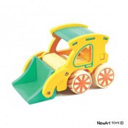 Coleção Carrinhos NewArt Toy's Carregadeira Ref. 357