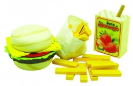 Coleção Comidinhas NewArt Toy's Kit Sanduíche Ref. 394
