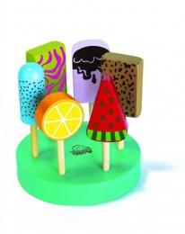 Coleção Comidinhas NewArt Toy's Picolés Ref. 370