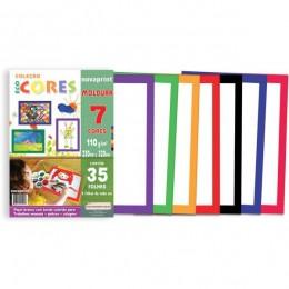 Coleção Ecocores Novaprint Moldura 35fls. 7 cores A4