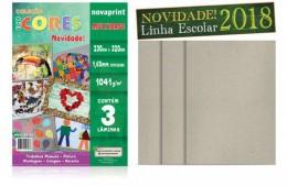 Coleção Ecocores Novaprint Multibase 3 laminas A4