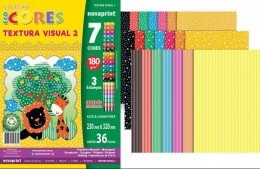 Coleção Ecocores Novaprint Textura Visual 2