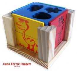 Cubo Forme Imagem Carimbras Ref. 4395