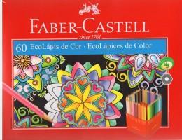 EcoLápis de Cor 60 Cores Faber-Castell 120160
